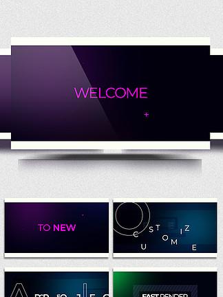 动感时尚AE展示视频模板