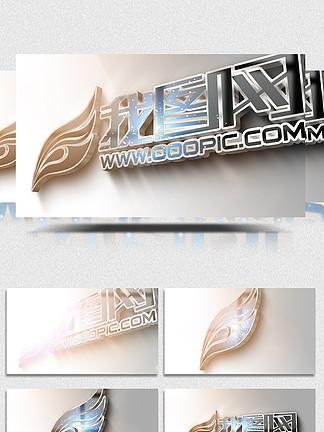 粒子特效企业logo片头视频