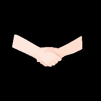 友谊握手图片