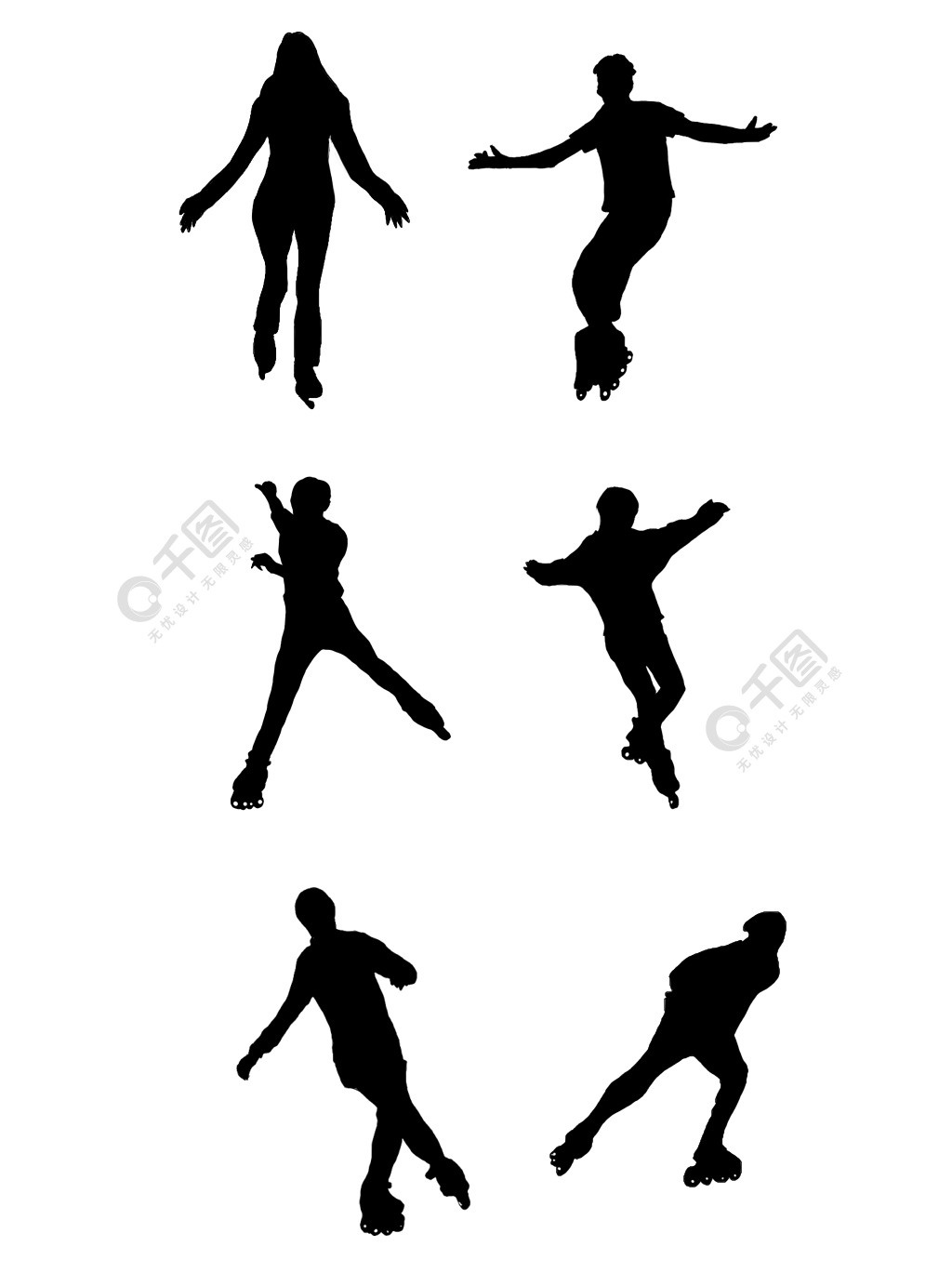 表情 轮滑矢量素材轮滑模板下载轮滑滑旱冰, 运动, 轮滑矢量素材, 刺激  表情