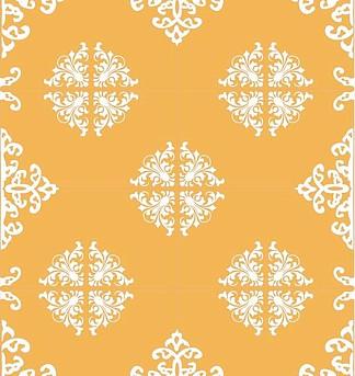 欧式花纹对称花图片