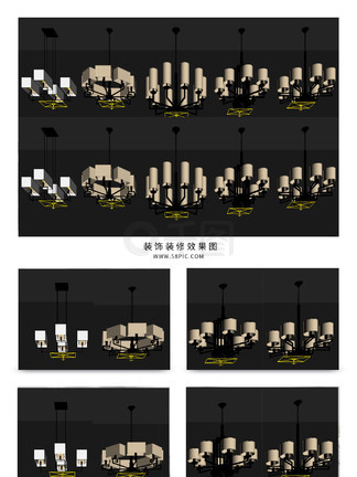 图片免费下载 LED灯具素材 LED灯具模板 千图网