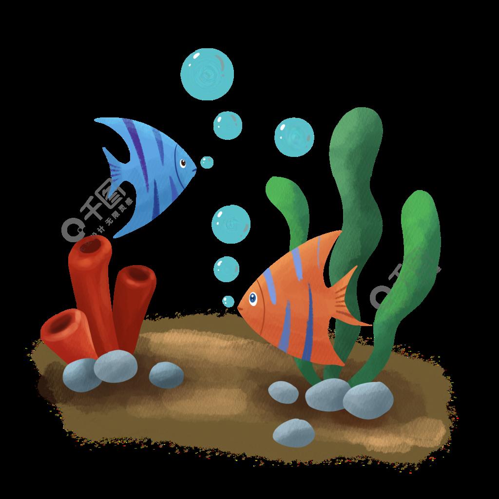 小鱼吐泡泡图片模板免费下载 psd格式 2000像素 编号15230906 千图网