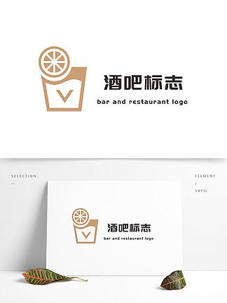 酒吧标志矢量创意设计