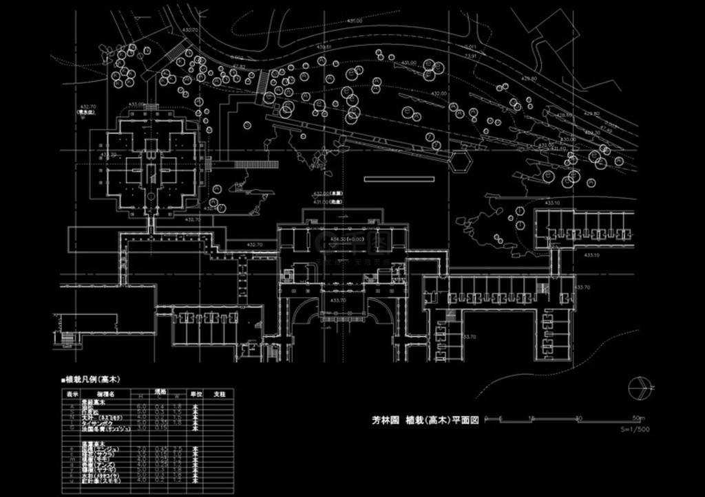 电话古建筑cad平面设计图免费下载_dwg格式_三亚市广告设计公司图纸图片