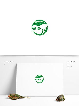 有机食品商标设计图案