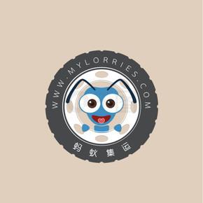 蚂蚁集运logo设计