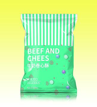 零食包装样机