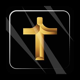 金色闪亮十字架免抠png透明<i>图</i>层素材