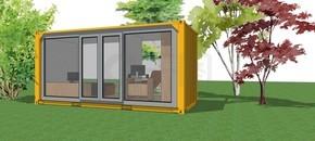 室内设计休闲屋su模型下载