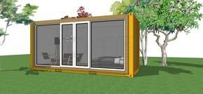 室内设计单身住房su模型下载