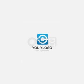 抽象logo设计模板