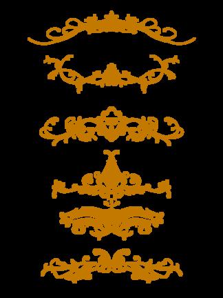 歐式復古<i>花</i><i>紋</i>邊框
