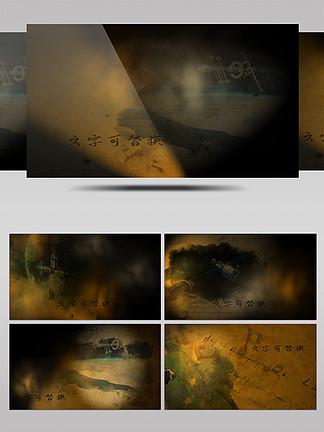 震撼復古回憶中國航天歷程宣傳片AE模板
