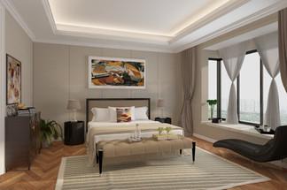 现代卧室空间<i>效</i><i>果</i><i>图</i>