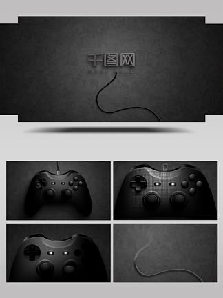 游戏开启logo揭示动画AE模板