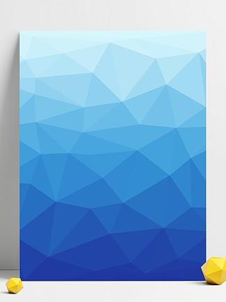蓝色几何背景图片