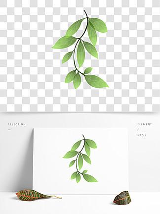 嫩绿植物绿?#23545;?#21019;可商用元素