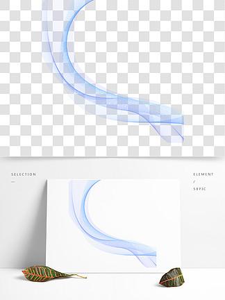 藍色矢量科技線條<i>底</i><i>紋</i>可商用元素