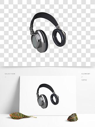 耳机音乐节元素商用素材Music耳麦电商元素