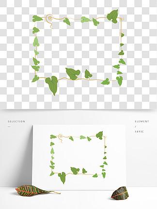 图片免费下载 藤蔓手绘边框素材 藤蔓手绘边框模板 千图网图片