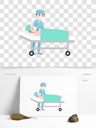 做手术场景设计可商用元素