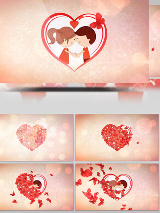 浪漫爱情<i>婚</i><i>礼</i><i>片</i><i>头</i>