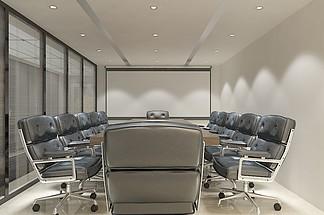 办公空间会议室<i>装</i><i>修</i><i>效</i><i>果</i><i>图</i>