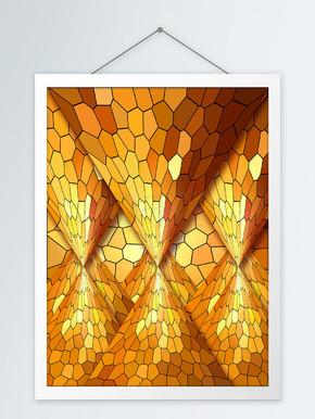 原创抽象意境客厅装饰画