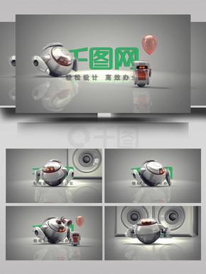 科技虚拟未来科技动感展示AE模板