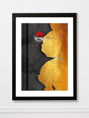 原创抽象意境水墨装饰画