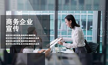 商务企业形象宣传展示Pr模板