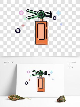 图片免费下载 灭火器卡通素材 灭火器卡通模板 千图网