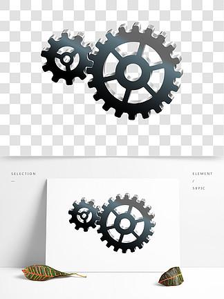 日常用品齿轮效果图案素材