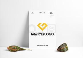 珠宝钻石钻饰店LOGO原创设计