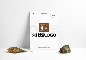 文化馆博物馆教科组织LOGO原创设计