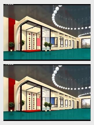 展厅展示设计3dmax模型