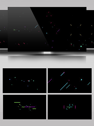 MG动画通用元素装饰动画AE模板
