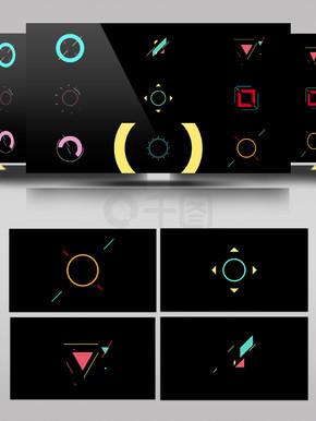 元素装饰MG动画AE模板