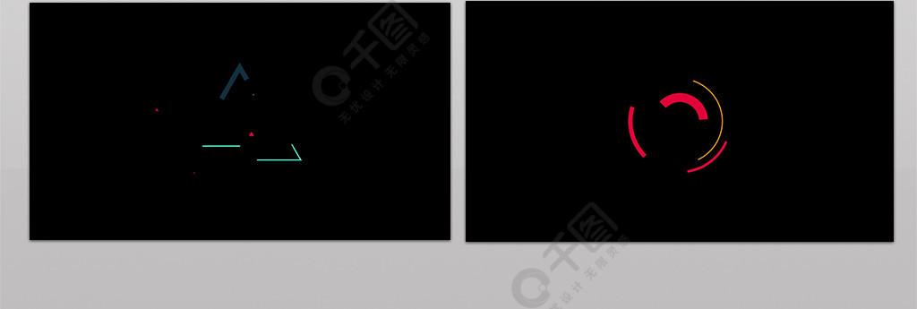 装饰元素MG动画AE模板
