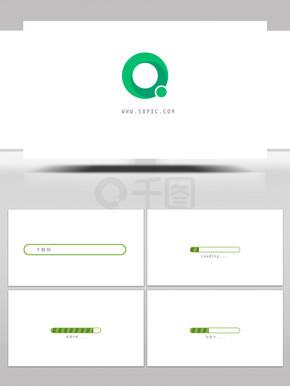 简洁商务网站搜索logo展示AE模板