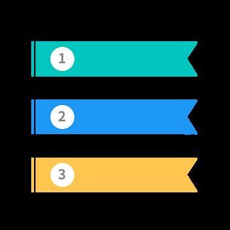 <i>PPT</i>分类条例旗帜标题栏边框