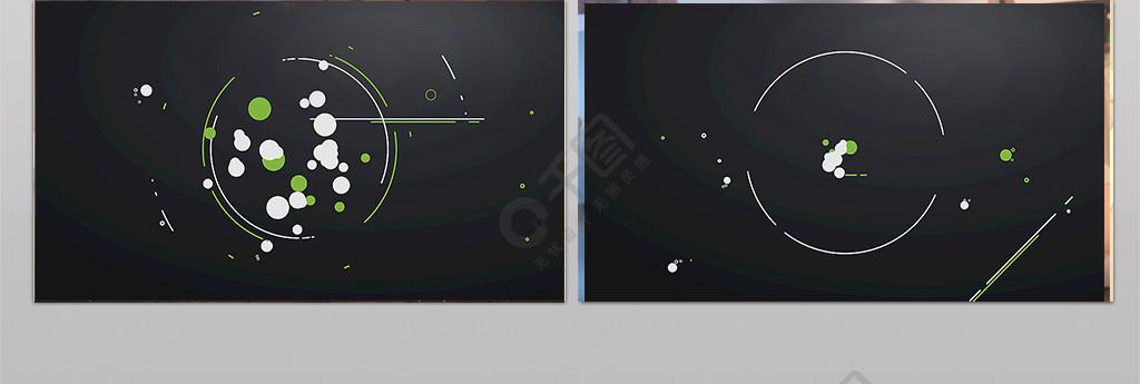 简洁标志揭示logo小动画AE模板