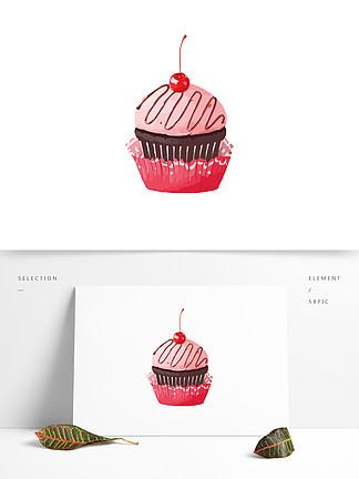 手绘美味卡通草莓樱?#19994;?#31957;