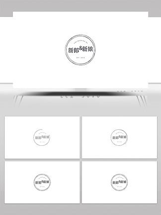 简约时尚小清新字幕条合集AE模板