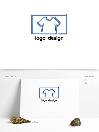 服装服装几何logo创意设计