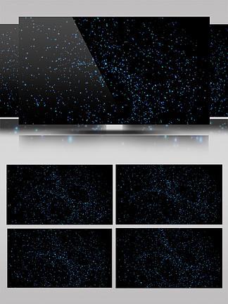 动态粒子元素视频文AE模板