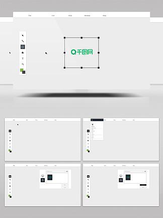 简洁创意logo展示AE模板