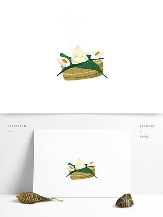 手绘端午节粽子元素设计