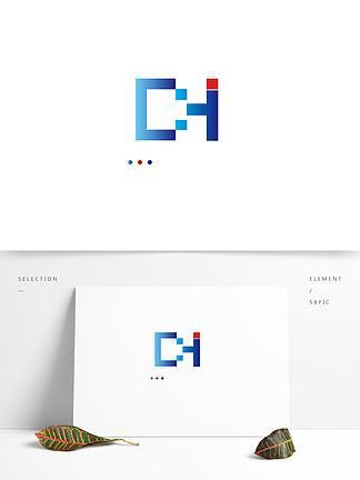 彩色泛用型字母LOGO图标